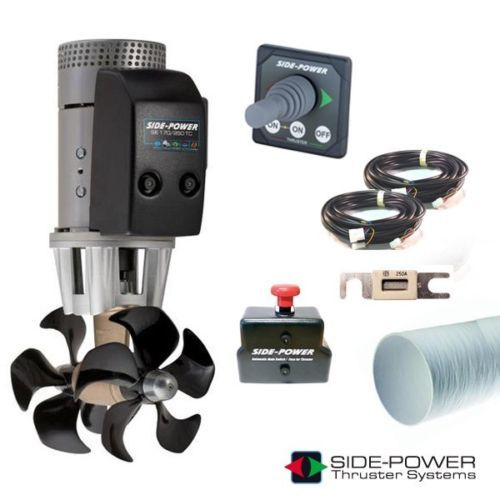 Marine Installation Thruster Kit, Marine Bow Thruster, Bow Thruster, Thruster, Side Power
