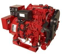 Marine Diesel Generator 11000 Watt Westerbeke 11.0 EGTD