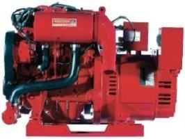 Marine Gasoline Generator 20000 watt Westerbeke 20.0 SBEGA low-CO