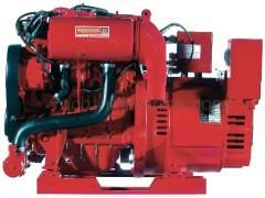 Marine Gasoline Generator 22500 watt Westerbeke 22.5SBEGA low-CO
