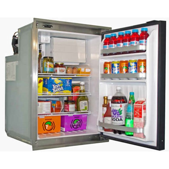 Nova Kool R5810 162L Single Door Refrigerator with Freezer Compartment AC/DC or DC Only