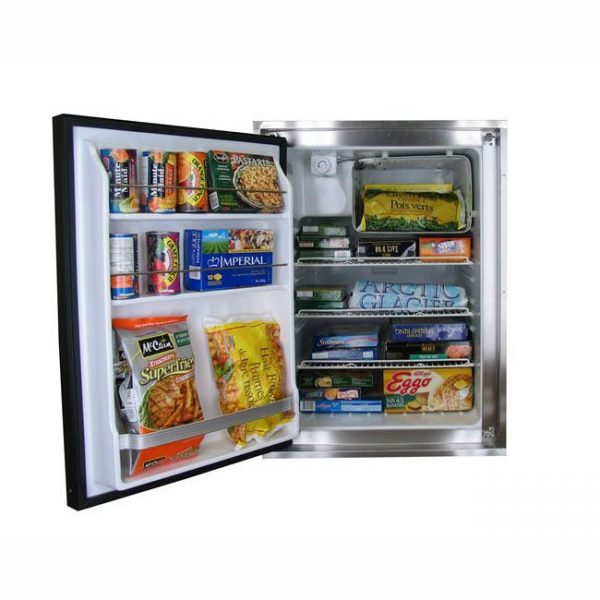 Marine Nova Kool Freezer or Refrigerator F5810 162 Liter Stainless Steel AC/DC or DC only