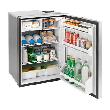 Cruise 130 Elegance Silver – DC Only, Silver Door, internal mounting system (no flange necessary)