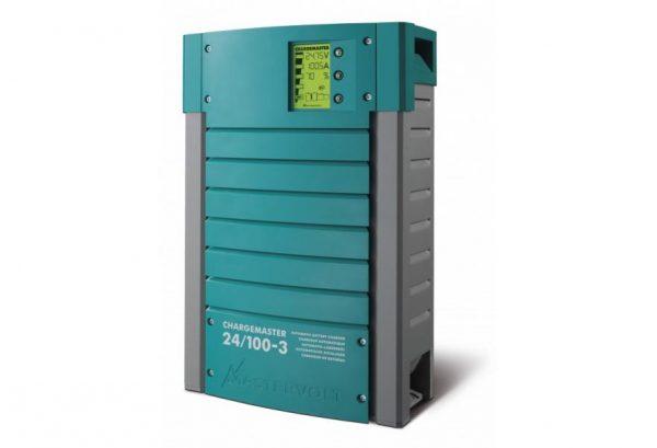 Mastervolt ChargeMaster 100 Amp 24V Battery Charger 3 Bank