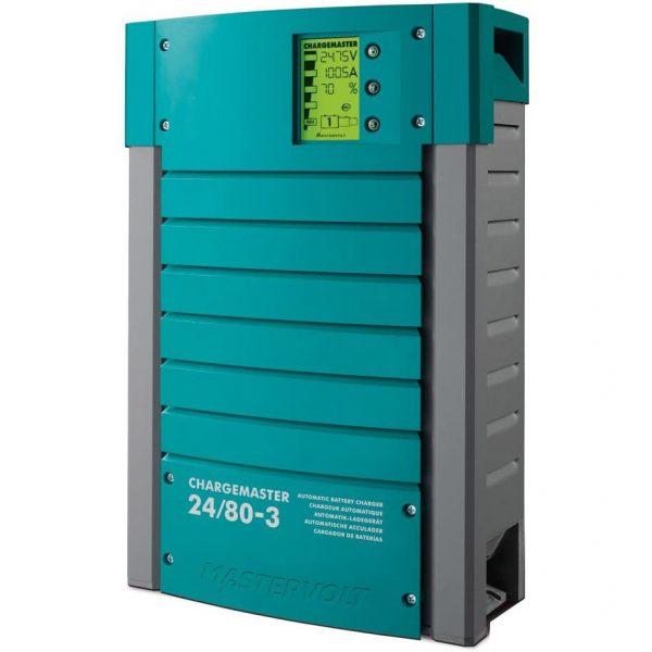Mastervolt ChargeMaster 80 Amp 24V Battery Charger 3 Bank