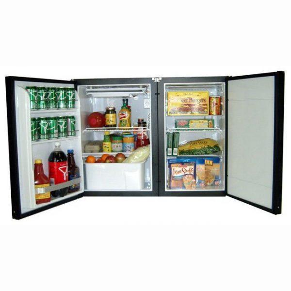 Nova Kool RFS6113 5.6 CU FT Side By Side Refrigerator & Freezer AC/DC or DC only