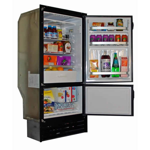 Nova Kool RFU8220 206L Two Door Refrigerator with convenient Freezer AC/DC or DC only