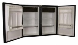 Nova Kool RS4600, RS6100, RS6500, RS7600 Two Door Side By Side Marine Refrigerator AC/DC or DC Only