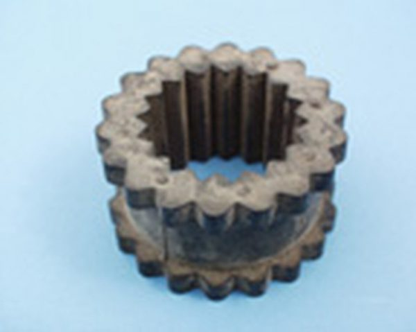 Side Power Rubber torsion sleeve in flexible coupler 6HP