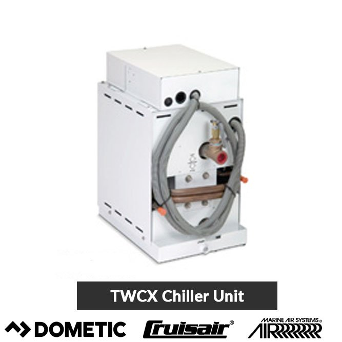 Marine Air TWC Chillers Compact Tempering Unit Cruisair on