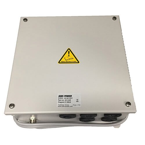 Voltage Conversion Box -24-48V for 285TC, 4-wire electric system