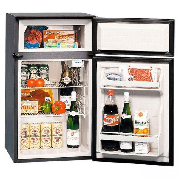 BIG 90 Classic Refrigerator / Freezer - 2.5 Cu.Ft. fridge / 0.7 Cu.Ft. freezer - AC/DC- Right Swing
