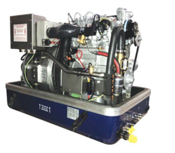 AC 12 Mini DP Marine Diesel Generator