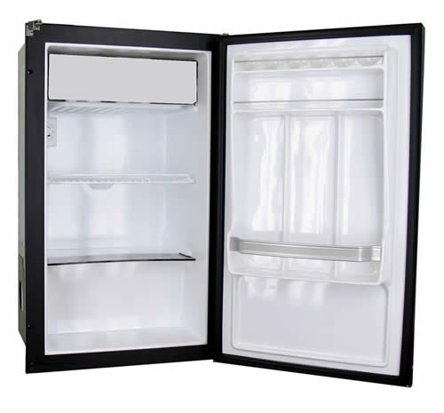 Nova Kool R2300 2.1 CU FT Single Door Refrigerator with Freezer Compartment AC/DC or DC Only.