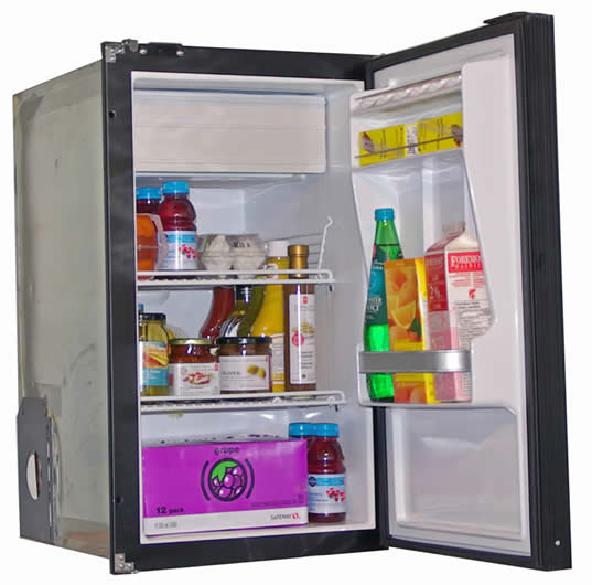 Nova Kool R3100 85L Single Door Refrigerator with Freezer Compartment (R3100) AC/DC or DC Only.