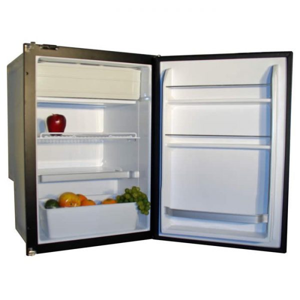 Nova Kool R4500 4.3 CU FT Single Door Refrigerator with Freezer Compartment AC/DC or DC only