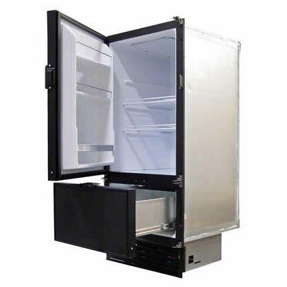 Nova Kool RFU6400D 193L Two Door Refrigerator with Freezer drawer on the bottom AC/DC or DC Only.