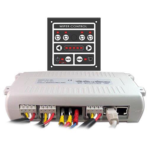 4-Wiper Control Panel 12/24VDC