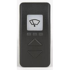 CT42 Compact Full-Function Electronic Wiper Control Switch for Two Wipers