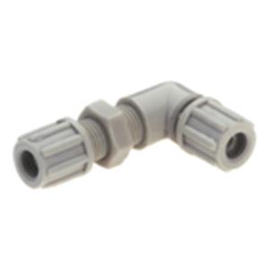 Bent (90 degree) Bulkhead Connector