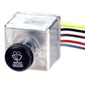 Combination Wiper Switch for One Wiper, 12V