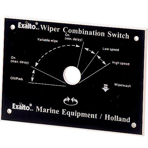 Faceplate for Combination Switches