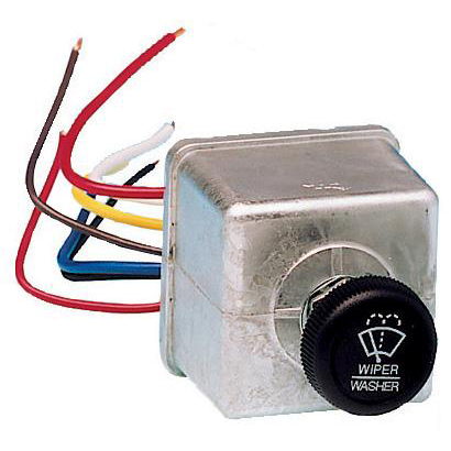 Combination Wiper Switch for One Wiper, 24V
