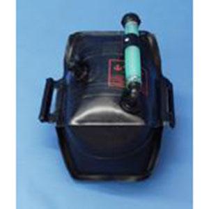 Portable Outboard Tank, 6 Gallon with Fittings