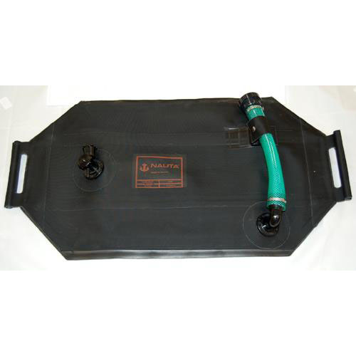 Portable Outboard Tank, 18 gallon with Fittings