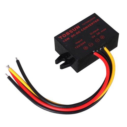 Voltage Converter, 8-40VDC- 5VDC, 2.5A