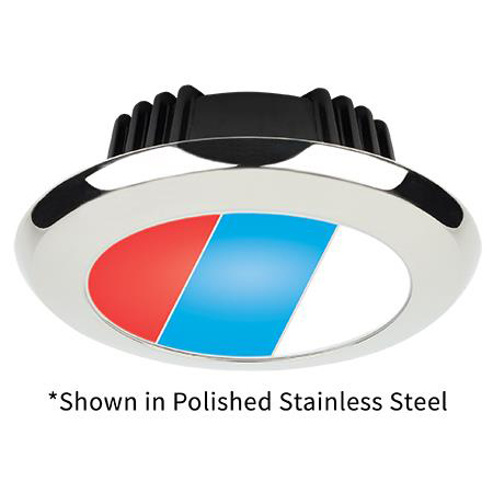 Tri-Color Sigma Small, Polished Stainless Steel