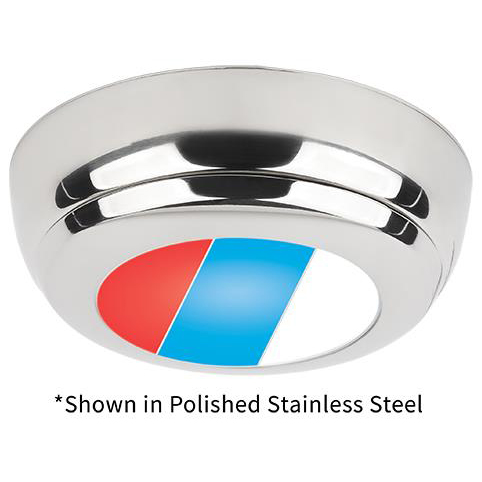 Tri-Color Sigma Surface-Mount, Polished Stainless Steel