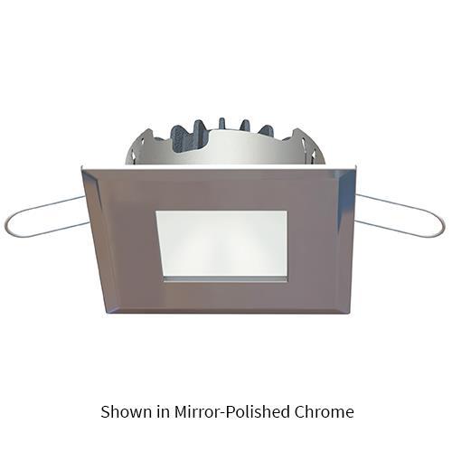 Carve PowerLED, 10-40VDC, Matte Chrome Plated