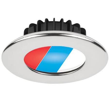 Ripple PowerLED Tri-Color, 10-40VDC, Polished SS