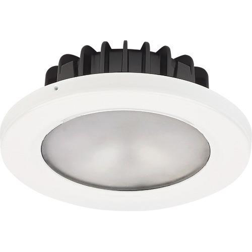 Pool PowerLED, 10-40VDC, Brushed SS, Cool White/Red, 4.7W, IP65
