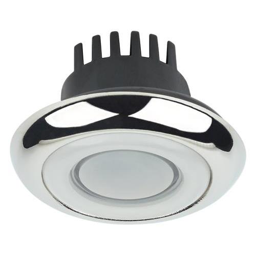 Yukon, Stainless Steel, 10-30VDC, 1 x 1WBlue LED, IP65