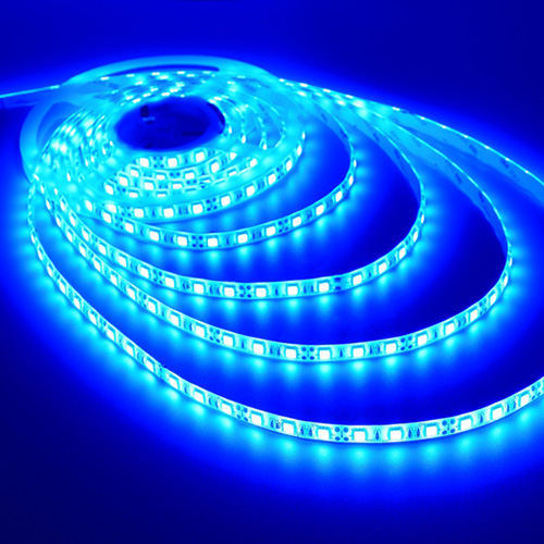 BOM: Flexible LED Strip Tape HO (High Output) F-Series, 24V, Blue, 8' Length, 3M Tape, IP66