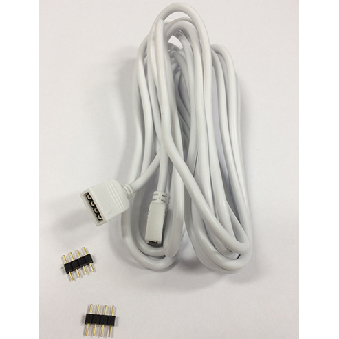 RGB 5M Extension Cable with 4-Pin Connectors