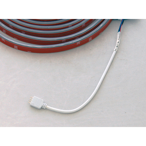 """RGB 4-Pin Male Connector, 6"""" Connects RGB Tape Light to Controller"""