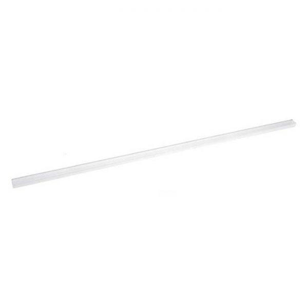 """Clear Mounting Track for 3/8"""" Rope Light (3' section)"""