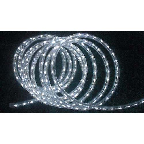 "3/8"" LED Rope Lighting, 24V Cool White"