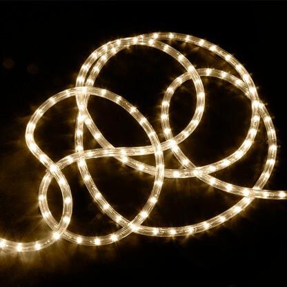 """3/8"""" LED Rope Lighting, 24V Warm White"""