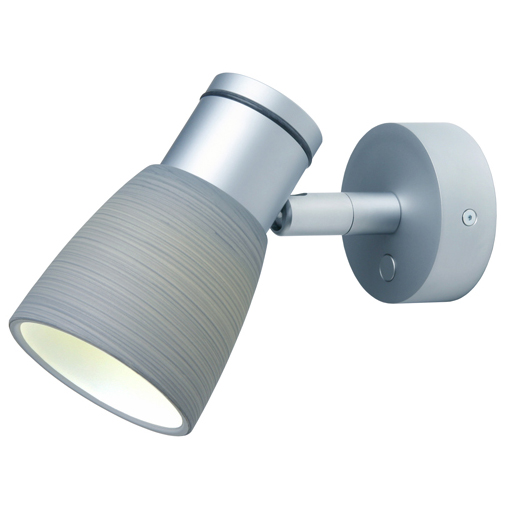 Munich, Matte Chrome with Titanium Glass Shade Built-in Dimmer, 3 x 1W Warm White LEDs, 10-30VDC