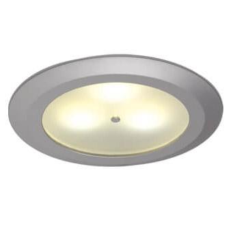Leer LED Downlight, Matte Chrome, WW/Blue 10-30VDC, Master (Dimmable), IP20