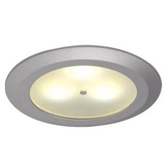Leer LED Downlight, Matte Chrome, WW/Red, 10-30VDC Master (Dimmable), IP20