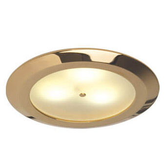Leer LED Downlight, Gold, Warm White/Red, 10-30VDC Master (Dimmable), IP20