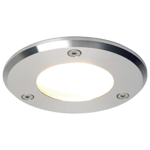 Emden Large LED, SS, Warm White, 10-30VDC, Slave (Dimmable only if used w/ILPB23304205), IP67