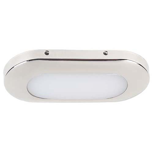 Montauk LED, 24VDC, Stainless Steel, 4 x SMD LEDs Red, IP65