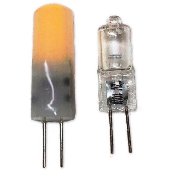 """Bullet"" G4 LED Bulb, Warm White, 10-30VDC ""Bullet"" LED Replacement Bulb Omni-Directional"