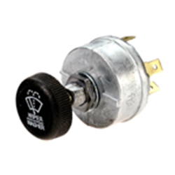 Single IMW Wiper Rotary Switch with Wash, 12-24V Do Not Use with Exalto Motors